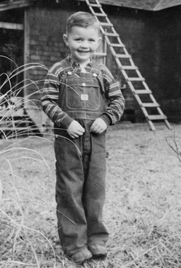 Parkview Memory Care Founder, Wendell White, as a child at the first senior living community in 1943.