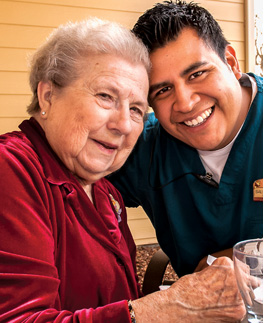 Caring for your family like family at Parkview Memory Care communities.