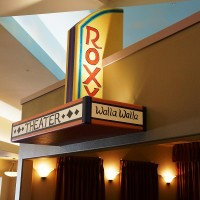 Movie Theater sign at Parkview Memory Care at Wheatland Village.