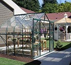 Greenhouse and Gazebo of one Atrium at Parkview Memory Care at CherryWood Village.