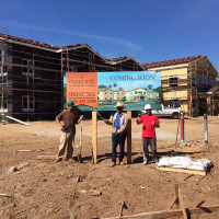 Parkview Memory Care at Paradise Village - Coming Soon Sign is Up