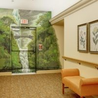 Parkview Memory Care at CherryWood Village - Interior Mural