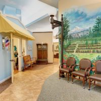Parkview Memory Care at CherryWood Village - Walkway Interior